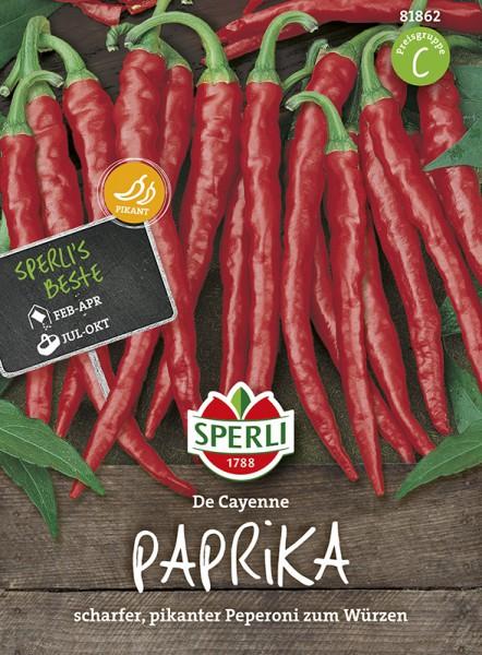 SPERLI Paprika 'Cayenna / De Cayenne'