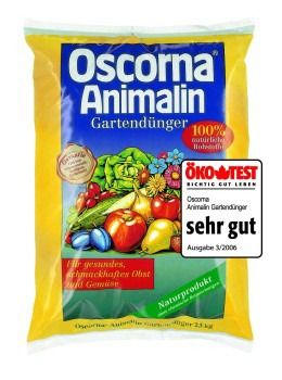 OSCORNA Animalin-Gartendünger (2,5 kg)