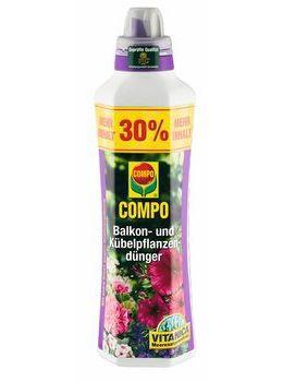 COMPO Balkon- und Kübelpflanzendünger 1,3l
