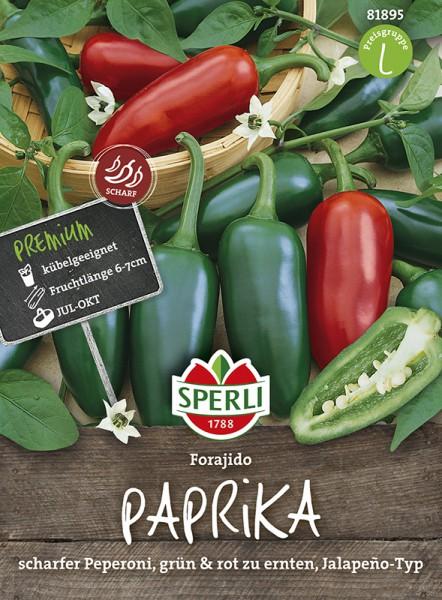 SPERLI Paprika 'Forajido'