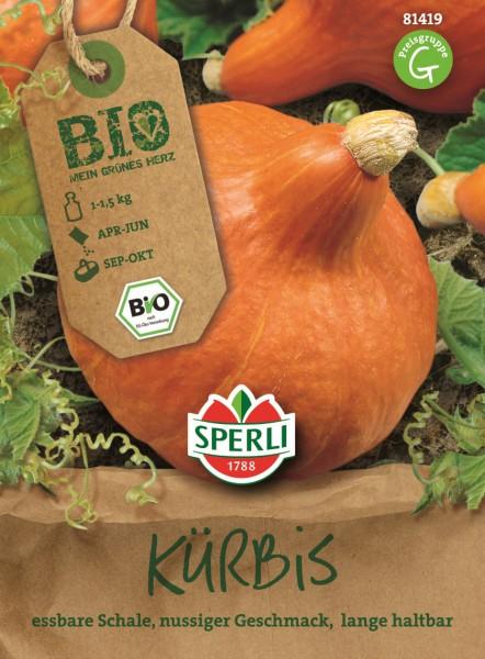 """SPERLI Kürbis (Hokkaido) """"Solor"""" BIO - 1 Portion"""