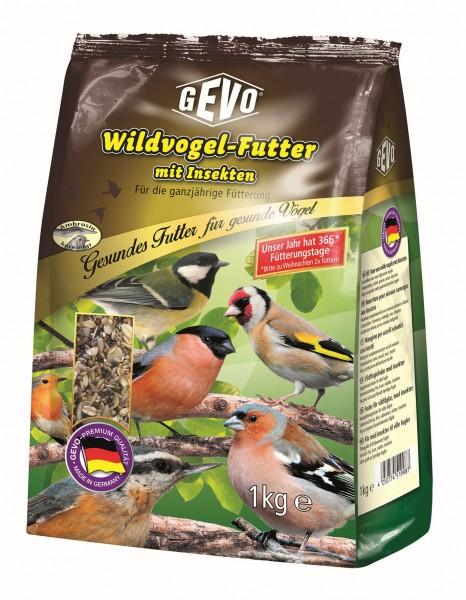 GEVO Wildvogelfutter mit Insekten - 1 kg