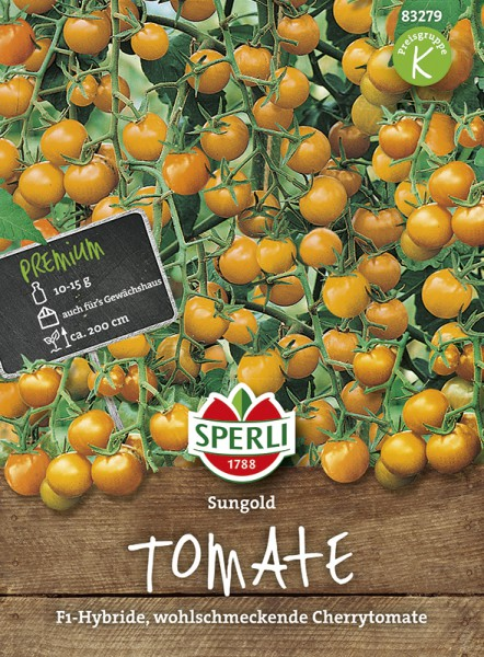 SPERLI Tomate (Cherry-Tomate) 'Sungold F1'