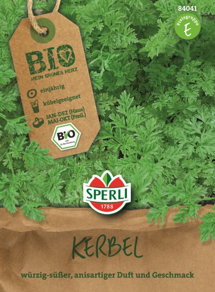 SPERLI Kerbel BIO - 1 Portion