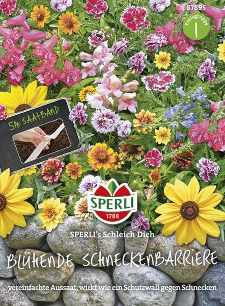 SPERLI Blumenmischung 'Blühende Schneckenbarriere SPERLI's Schleich Dich'