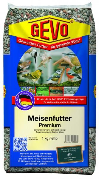 GEVO Meisenfutter Premium, mit sehr hohem Anteil an Nüssen