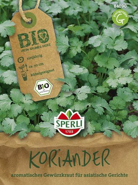 SPERLI Coriander/Bio (Coriandrum sativum) einjährig