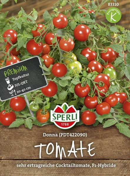 SPERLI Tomate (Cherry-Tomate) 'Donna F1'