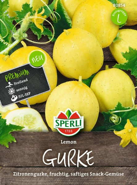 Sperli Gurke 'Lemon'