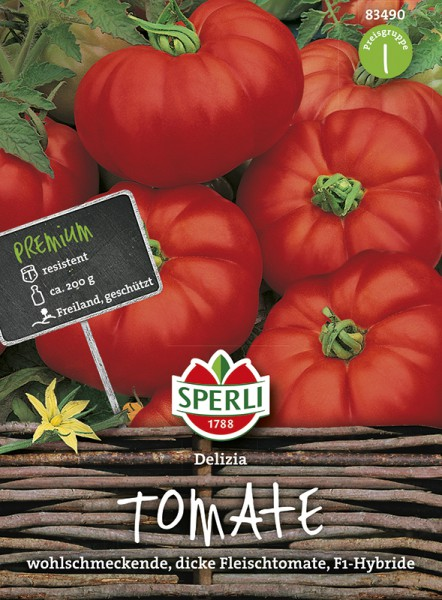 SPERLI Fleisch-Tomate 'Delizia' F1