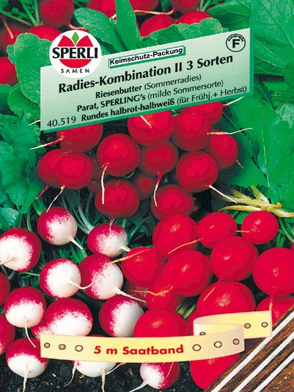 Sperli Radies, Kombination II, 3 Sorten