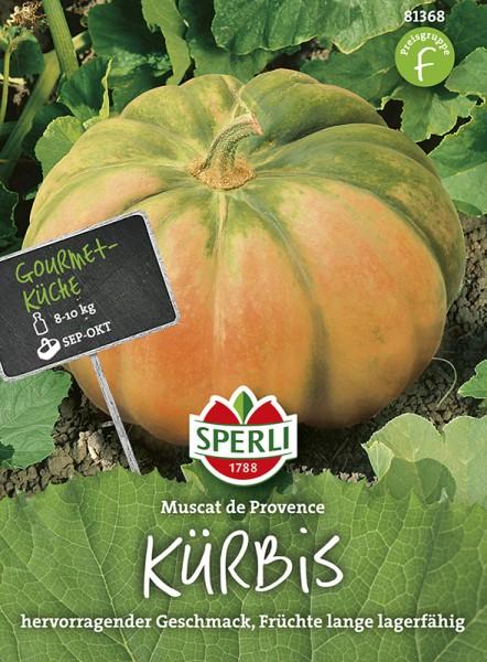 SPERLI Kürbis / 'Muscat de Provence'