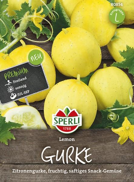 SPERLI Gurke (Zitronengurke) 'Lemon'