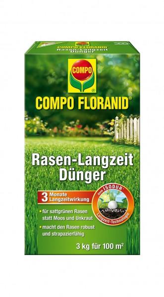COMPO FLORANID® Rasen-Langzeitdünger - 3kg