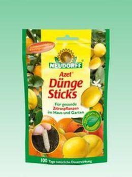 Azet DüngeSticks für Zitrus-und Mediterranpflanzen