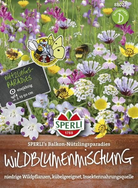 SPERLI Blumenmischung 'Sperli's Balkon Nützlingswiese'