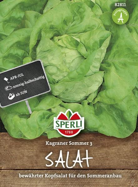 SPERLI Kopfsalat 'Kagraner Sommer 3'