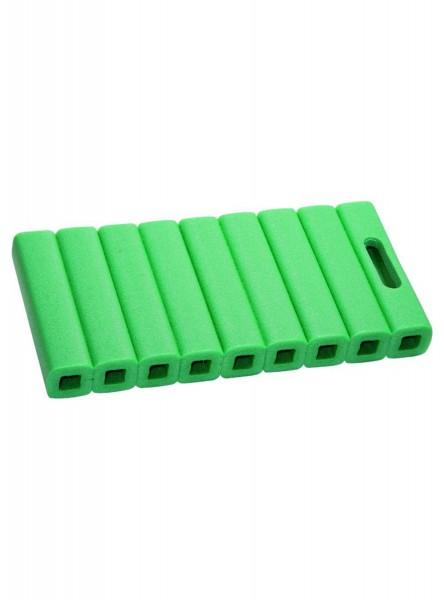 Röhrenkissen 41x20x4,5 EPE, grün