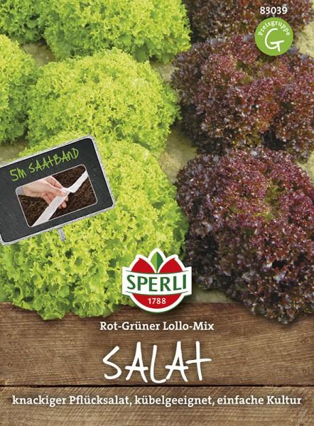 SPERLI Schnittsalat Rot-Grüner Lollo-Mix