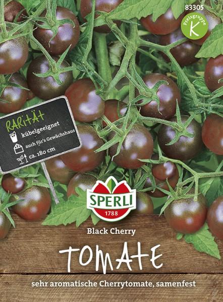 SPERLI Tomate (Cherry-Tomate) 'Black Cherry'