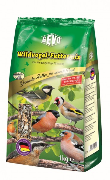 GEVO Wildvogel - Futtermix 1kg