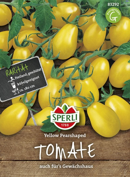 SPERLI Tomate (Cherry-Tomate) 'Yellow Pearshaped'