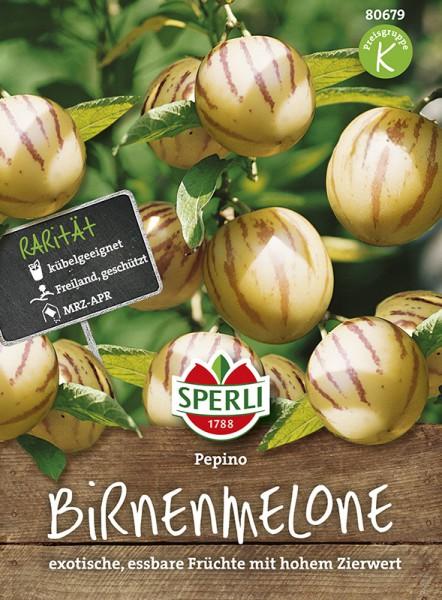 SPERLI Birnenmelone 'Pepino'