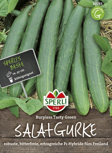 SPERLI Salatgurke 'Burpless Tasty Green F1 '