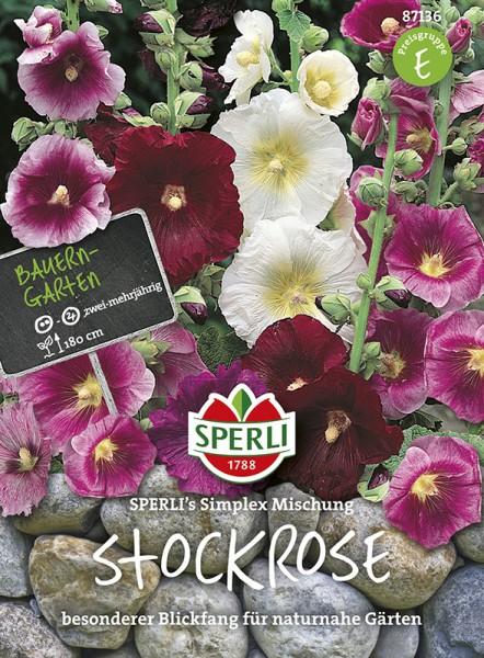 SPERLI Stockrose 'SPERLI´s Simplex Mischung'