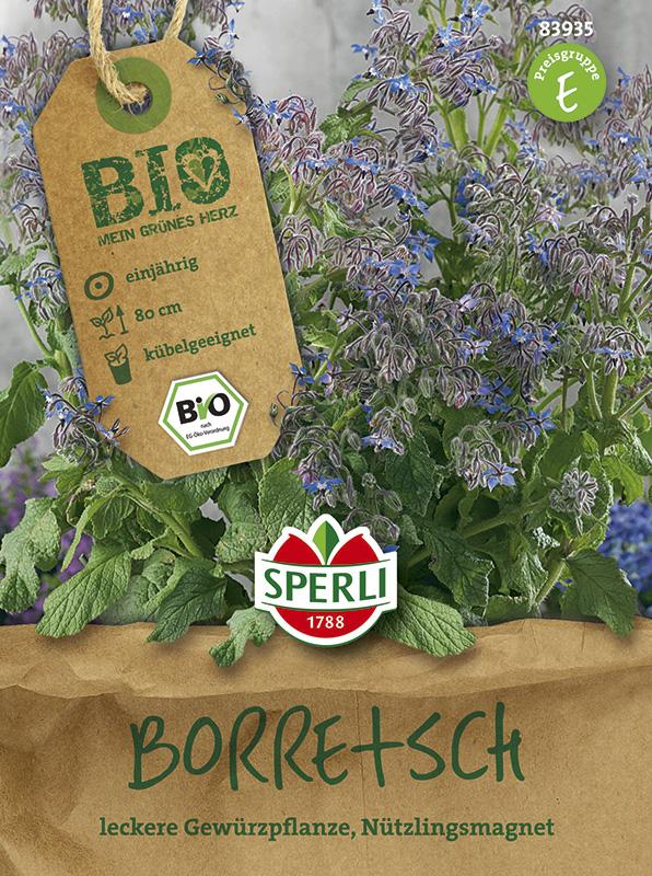 Bio-Saatgut von Sperli-Samen Kr/äutersamen Bio-Kerbel Fijne Krul