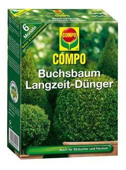 COMPO Buchsbaum-und Ilex Langzeit-Dünger - 2 kg