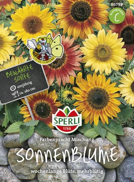 SPERLI Sonnenblume 'Farbenpracht Mischung'