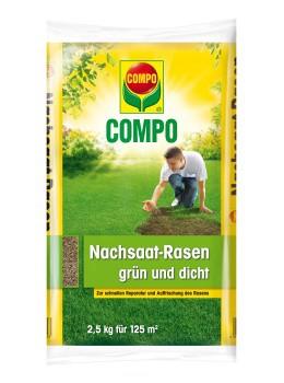 COMPO Nachsaat-Rasen grün und dicht - 2,5kg