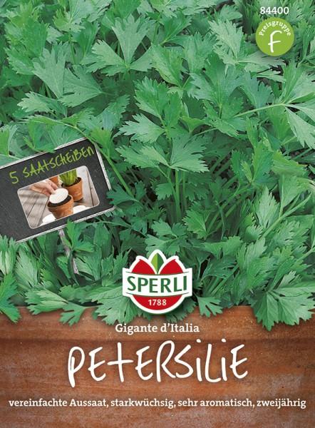 Petersilie 'Gigante d'Italia'(Peione)- Saatscheibe