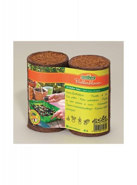 10 Kokos-Quelltabletten 70 mm Ø