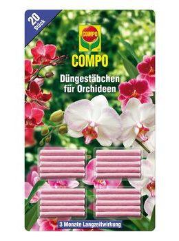 COMPO Düngestäbchen für Orchideen - 20Stk