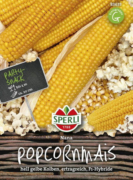SPERLI Popcornmais 'Nana'