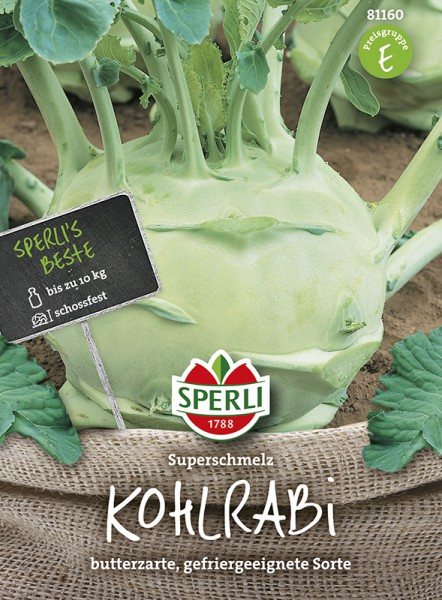 SPERLI Kohlrabi 'Superschmelz'