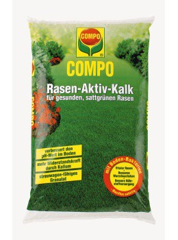 COMPO Rasen-Aktiv-Kalk - 10 kg