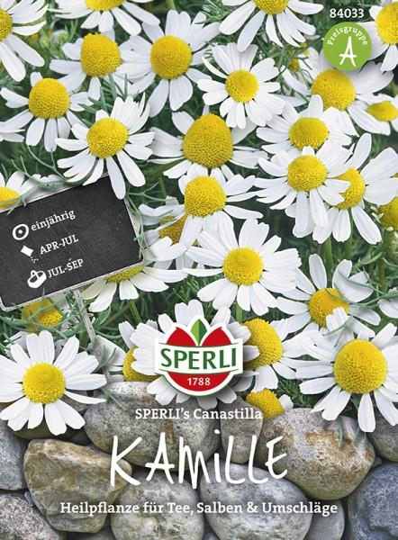 SPERLI Kamille, Echte 'Sperli´s Canastilla'
