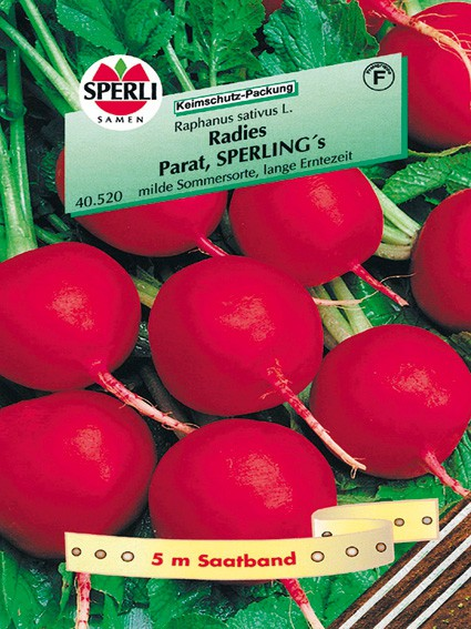 Sperli Radies, Parat, SPERLING's