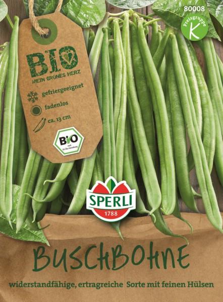 SPERLI Buschbohnen Bio - grün - 1 Portion
