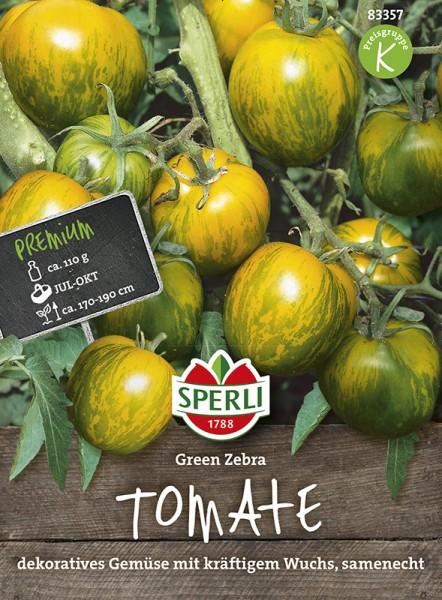 SPERLI Tomate 'Green Zebra'