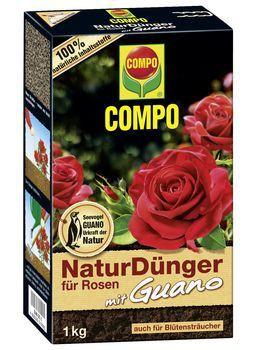 COMPO Bio Rosen Langzeit-Dünger mit Schafwolle 750g