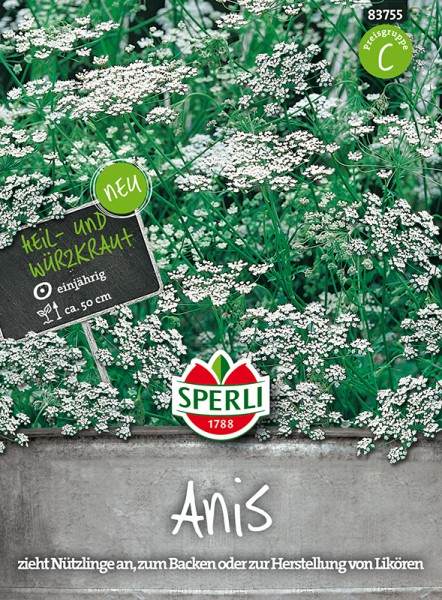 Heil- und Würzkraut Anis - 1 Portion