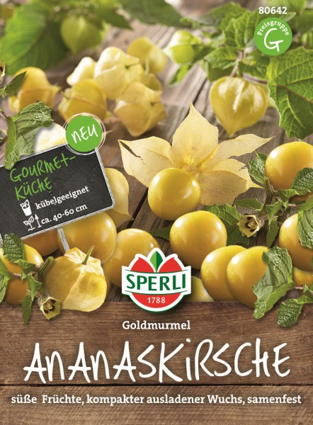 SPERLI Ananaskirsche Goldmurmel; - 1 Portion