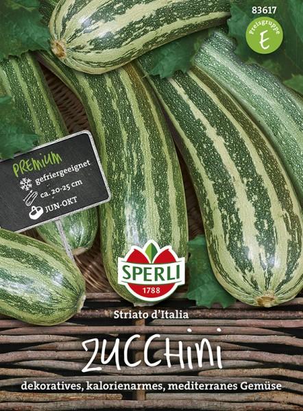 SPERLI Zucchini 'Striato d'Italia'