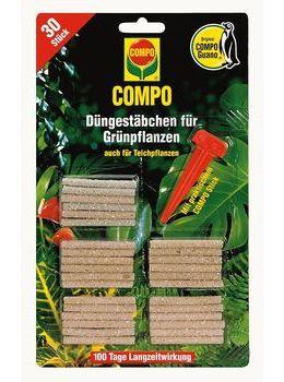 COMPO Grünpflanzen-und Palmen-Düngestäbchen - 30Stk