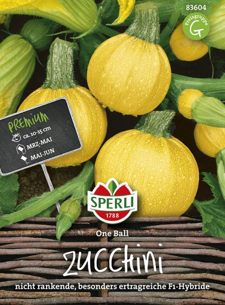 SPERLI Zucchini 'One Ball ' F1