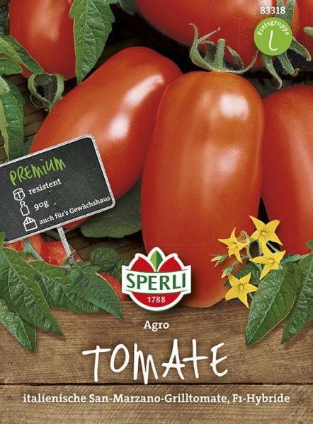 SPERLI Tomate (San-Marzano-Tomate) 'Agro F1'